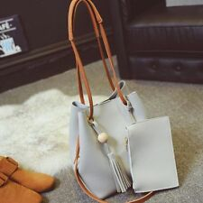 Women PU Leather Handbag Shoulder Bag Purse Tote Messenger Satchel Hobo Bag w