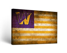Westminster College Griffins Canvas Wall Art Vintage Flag Design