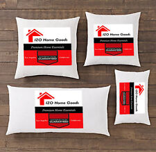 NEW Square Euro Pillow Form Insert-ALL SIZES!!- Made In USA Pillow Forms Insert