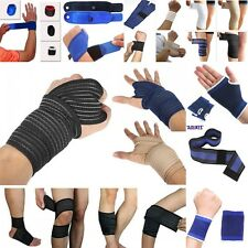 Knee/Elbow/Wrist//Hand/Thigh/Calf Support Weight Lifting Wrist Wraps Pad Guard