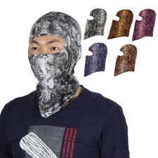 Serpentine Pattern Full Coverage Face Mask Neck Protector Hood Helmet Balaclava