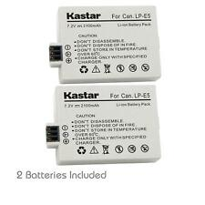 Kastar LP-E5 Battery for Canon Canon Rebel XS XSi T1i,  Kiss F X2 X3, EOS 450D