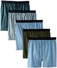 Hanes Men's Classics Woven Boxer - Colors May Vary (Pack of 5)