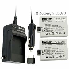 LP-E5 Battery & Normal Charger for Canon Rebel XS XSi T1i, EOS 450D  500D 1000D