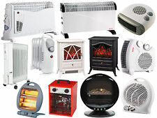 PORTABLE ELECTRIC OIL FILLED RADIATORS HALOGEN STOVE HEATERS 800W/1000W/2000W/
