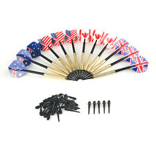 18pcs Professional Darts 14g Iron Plated Copper Tip Flight Darts Throwing Toys
