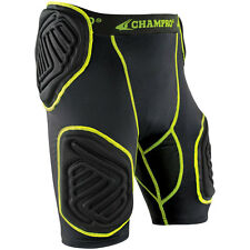 Champro Bull-Rush 5-Pad Integrated Football Girdle Youth and Adult Padded Shorts