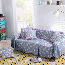 Nice Floral Polyester Sofa Cover oAUL Couch Protector for 1 2 3 4 seater yjzrx