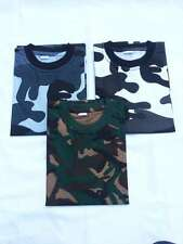 MENS UNISEX CAMO CAMOUFLAGE ARMY PRINT T-SHIRT WOODLAND MIDNIGHT URBAN NEW!!!