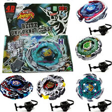 Rare Beyblade Set Toy Fusion Metal Fight Master 4D Top Rapidity Launcher Grip