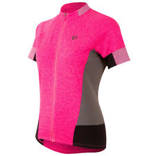 Pearl Izumi Select Escape SS Womens Bike Jersey Screaming Pink Parquet 2018