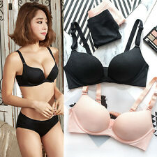 Pure Sexy Push Up Bra set Wire Free Seamless Gather Lingerie bra panty underwear