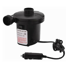 12V/4800PA AC Car Electric Air Pump For Camping Airbed Boat Toy Inflator насос