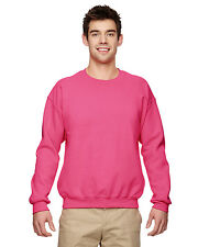Gildan G180 Warmup Sweatshirt Men's Heavy Blend 8 oz, 50/50 Fleece Crew NEW
