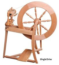 Ashford TRADITIONAL Spinning Wheel - Select from Single - Double Drive $30 BONUS
