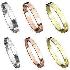 New Gold-plated Women Men Cuff Copper Bangle Jewelry Crystal Bracelet Optimal