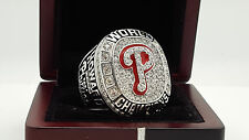 2008 Philadelphia Phillies world series ring 11s solid back