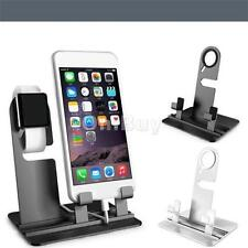 Charger Stand Holder Charging Docking Station For Apple Watch iPhone