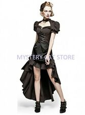 NEW Punk Rave Gothic Steampunk Brown Cotton Dress Q-315 ALL STOCK IN AUSTRALIA!