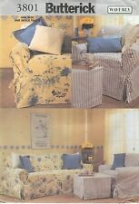 Butterick 3801 Slipcovers and Pillows     Sewing Pattern