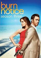 NEW Burn Notice: Third Season Three 3 (DVD, 2010, 4-Disc Set)