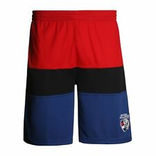 AFL Western Bulldogs Mens Training Leisure Shorts