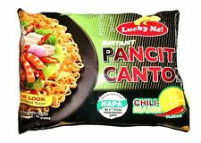 New Stock LUCKY ME PANCIT CANTON Chili-Mansi Flavor Chow Mein Fast USA Seller
