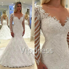 2017 Sweetheart Wedding Dresses Lace Applique Beads Bridal Gowns Mermaid Crystal