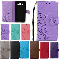For Samsung Galaxy S3 SIII i9300 Leather Stand Wallet Flower Protect Case Cover