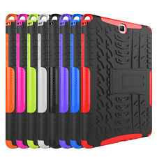 """Hybrid Shockproof Rugged Hard Case Cover For Samsung Galaxy Tab A 9.7"""" T550 T555"""