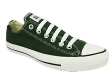 Converse All Star CT Womens UK 3 Kombu Green & White Canvas New Low Ox Trainers