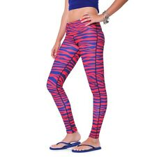 Team Tights Women's Leggings Large Royal Blue and Red