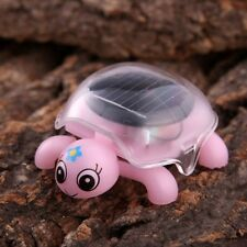 Mini Solar Powered Cute Turtle Tortoise Kids Educational Toy Gadget Gift 4 Color