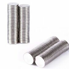 wholesale 50-200pc Super Strong Round Disc Magnets Rare-Earth Neodymium N35/N50