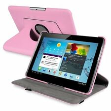 360-Degree Swivel Leather Case for10.1-Inch Samsung Galaxy Tab 2 P5100/P5110T3F5