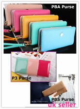 Womens Fashion Clutch Leather Long Handbags Ladys Bowknot Wallet Coin Purse uk