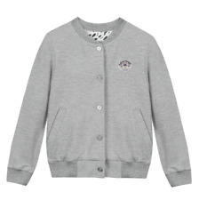 NWT KENZO KID Youth Women Unisex light grey marl Cardigan Jacket SOLD OUT
