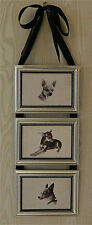 Chihuahua Dog Print Picture Frame Collage Wall Hanging Art Decor