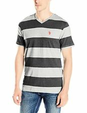U.S. Polo Assn. Men's Rugby Stripe V-Neck T-Shirt - Choose SZ/Color
