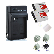 NP-BG1 NP-FG1 Type G Battery / Charger for Sony Cybershot W and H Series Cameras