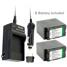 CGR-D54S Battery & Normal Charger for Panasonic AG-HPX250 AG-HPX255 AG-HVX200