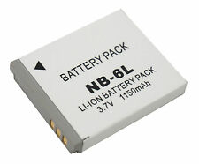 New Battery NB-6L for Canon Powershot IXUS 85, 90, 95, SD1300 IS, SX700, 710 HS