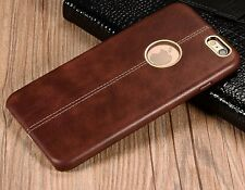 Rugged Thin Leather Case Cover Skin for iPhone 6, 6s, 6Plus and 7 & 7 +