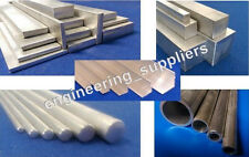 Metal Aluminium Round Square Flat Bar/Rod, & Pipe/Tube 100 - 600mm long