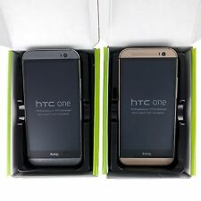 New In Box Verizon HTC One M8 Unlocked 32GB 4G LTE Smartphone Gray & Gold BNIB