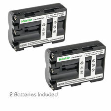 Kastar NP-FM500H Battery for Sony DSLR-A550 A550B A550H A550L A550Y A560 A580