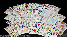 "New ** FRANCES MEYER STICKERS #1 - 4.5"" x 2.5"" SHEETS - (4 Sheets) ** You Choose"