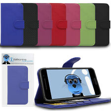 Book Wallet Case with Credit Card Holder & Stand For HTC Desire 820 / 820G+