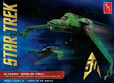 AMT 949 Star Trek Klingon Bird-Of-Prey 1:350 Scale Plastic Model Kit - Requires