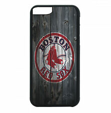 Boston Red Sox Phone Case For iPhone 7 6S 6 PLUS 5 5S 4S Black TPU Rubber